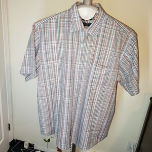 Dockers button up shirt plaid button up